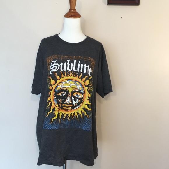 a82ac8922 Gray Sublime Graphic Short Sleeve T-Shirt Tee L. M_5ac25a6a3a112e74c83d48a7